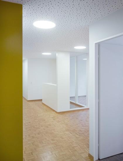 Aménagement d'un cabinet médical, Genève. Maître de l'ouvrage : privé.