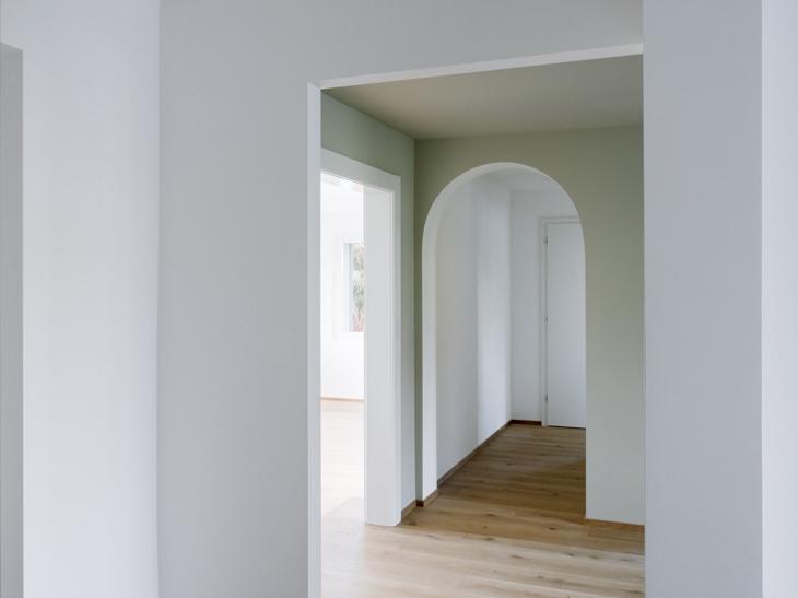 Transformation d'une villa à Morges, Vaud. Maître de l'ouvrage : privé. Collaboratrice: Diana Brasil.