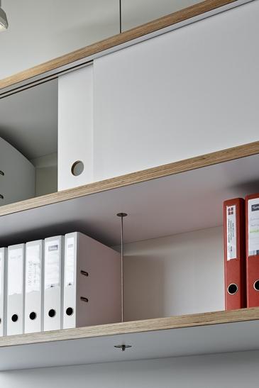 Réalisation de mobilier de laboratoire, Ecublens, Vaud. Maître de l'ouvrage: privé.
