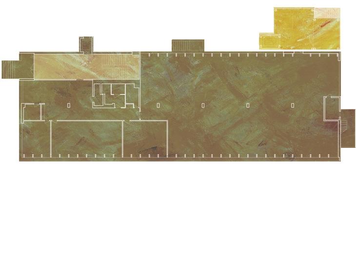 Extension d'un bâtiment industriel, Yverdon-les-Bains, Vaud. Maître de l'ouvrage: privé. Collaborateur: Fabian Wieland.
